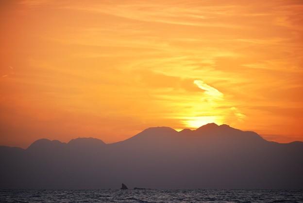 日没後の箱根 #湘南 #海 #波 #wave #surfing #サーフィン #sea #hakone #箱根