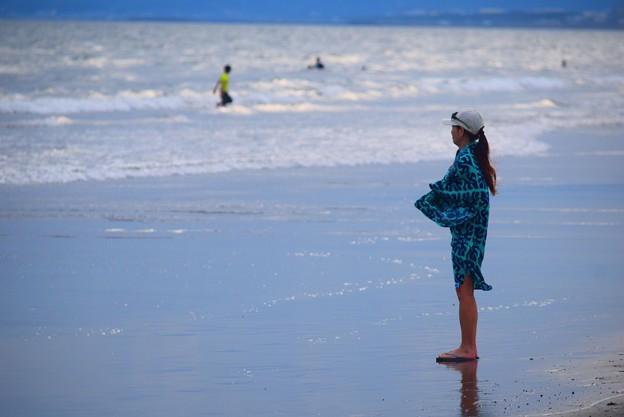 湘南・鵠沼海岸夕景 #湘南 #藤沢 #海 #波 #wave #surfing #sea #beach