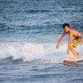 Photos: 夕方の湘南・鵠沼海岸の波はひざサイズ #湘南 #藤沢 #海 #波 #wave #surfing #sea #beach #サーフィン