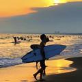 Photos: 湘南・鵠沼海岸のサーファー #湘南 #藤沢 #海 #波 #wave #surfing #sea #beach #サーフィン