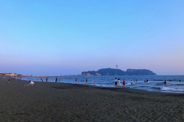日没後の江ノ島 #湘南 #藤沢 #海 #波 #wave #surfing #sea #beach #サーフィン
