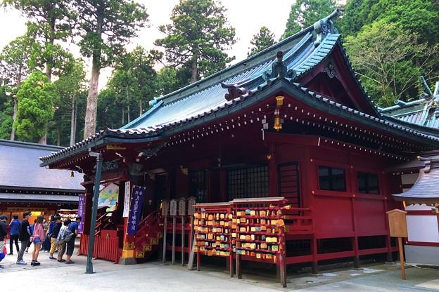 箱根神社拝殿 #箱根 #hakone #mysky #shrine #神社