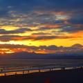 Photos: 雲が広がる夕方の湘南・鵠沼海岸 #湘南 #藤沢 #海 #波 #wave #surfing #sea #fujisan #mtfuji #富士山