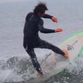 Photos: 夕方の湘南・鵠沼海岸の波はひざからももサイズ #湘南 #藤沢 #海 #波 #wave #surfing #sea