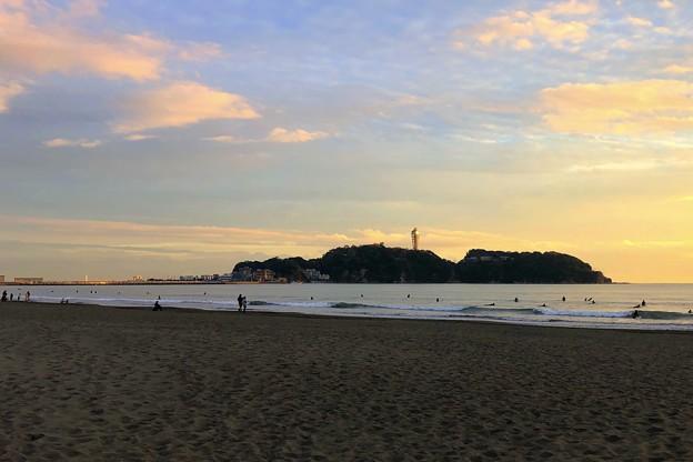 Photos: 夕方の江ノ島 #湘南 #藤沢 #海 #波 #wave #surfing #sea #サーフィン #mysky