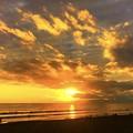 Photos: 湘南・鵠沼海岸の夕日 #湘南 #藤沢 #海 #波 #wave #surfing #sea #サーフィン #mysky