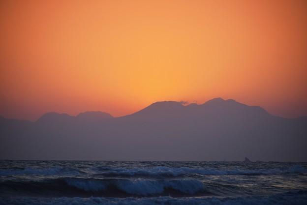 箱根の山々 #湘南 #藤沢 #海 #波 #wave #surfing #sea #hakone #箱根 #mysky