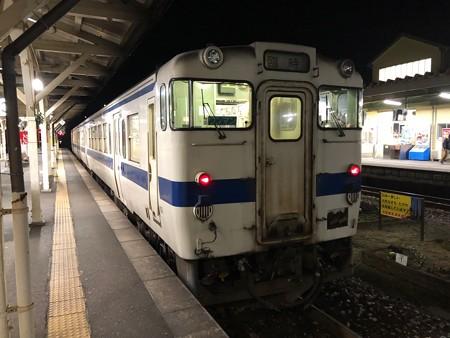 イルミネーション列車@田川後藤寺駅