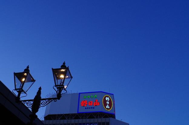 写真: 晴れの日夕暮れ