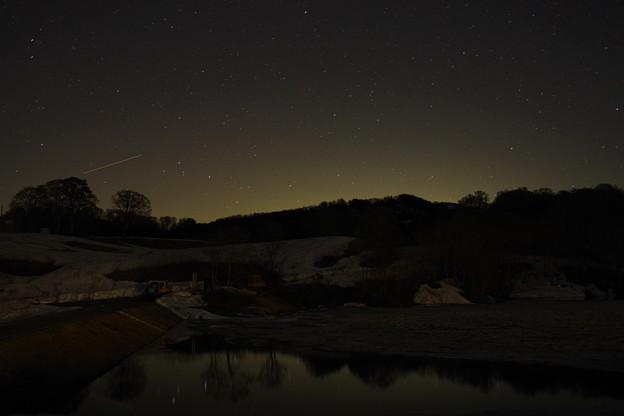 星が見える景色が撮りたくて