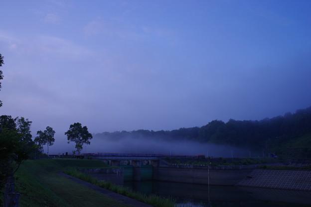 Photos: 朝のダム