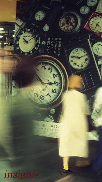 写真: それは『時間』です.......