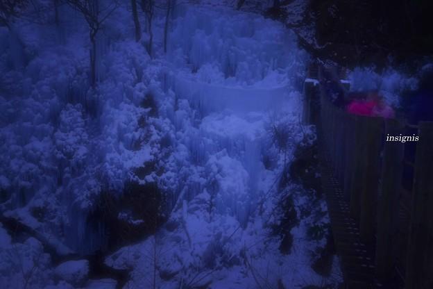 写真: 尾ノ内百景(冷っけ~)氷柱.......