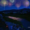Photos: 小川町七夕花火......