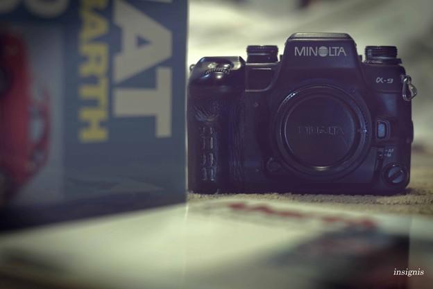 MINOLTA α-9 restore2   MINOLTAレンズで…