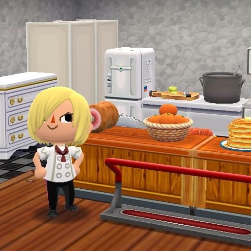 サニー号のキッチン