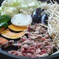 豚肉がメインのホットプレート焼き肉