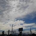 駐車場からの空(8月12日)