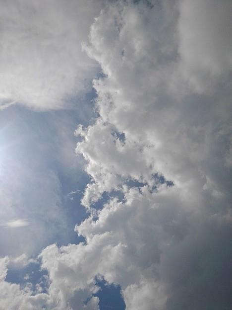 8月12日の昼下がりの空