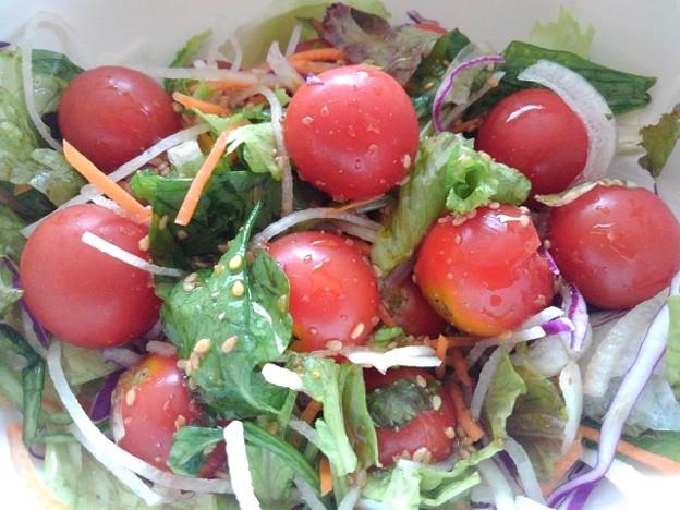 Photos: プチトマトが主役のサラダ