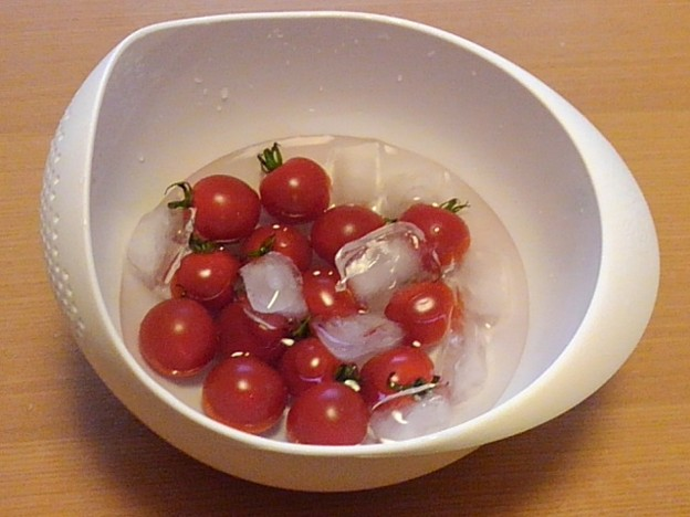 Photos: 冷やしプチトマト