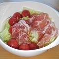 Photos: プチトマト入り生ハムサラダ