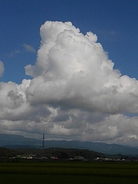 大きな雲を見た!!(8月27日)