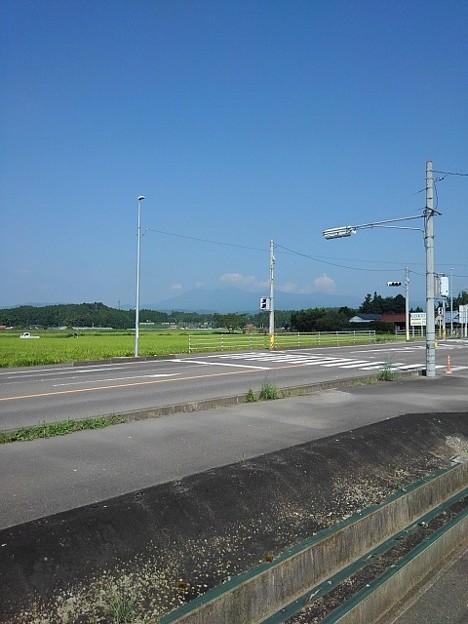 田園を通る道路(8月26日)