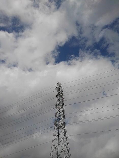 空と鉄塔(9月3日)