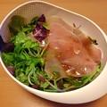 Photos: 生ハムとベビーリーフとレタスのサラダ