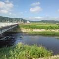 道路橋と川(9月4日)