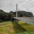 Photos: ゆうゆうパークの白い陸橋(9月21日)