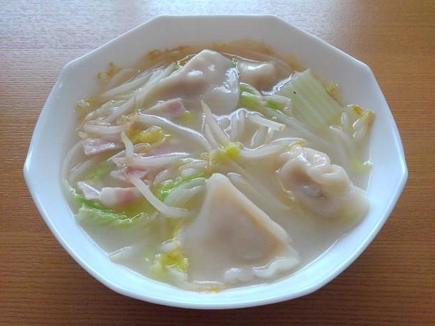 餃子スープ(9月25日)
