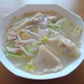 Photos: 餃子スープ(9月25日)