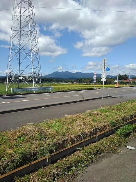 山のある景色(9月28日)