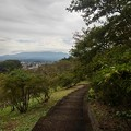Photos: 長峰公園の丘の上あたりの道(9月20日)