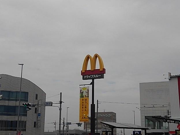 マクドナルドの看板(10月4日)