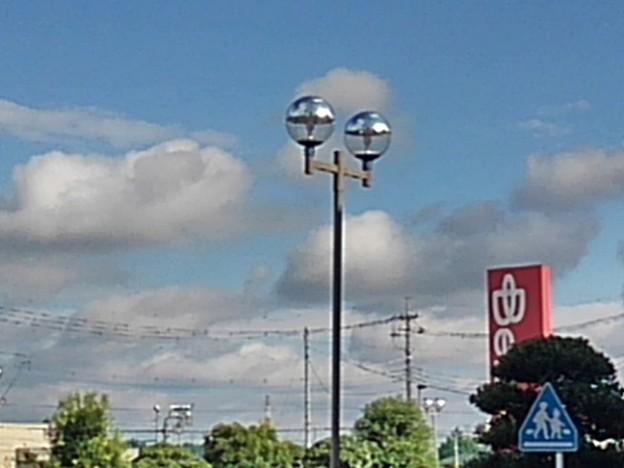 街灯のある景色(9月27日)