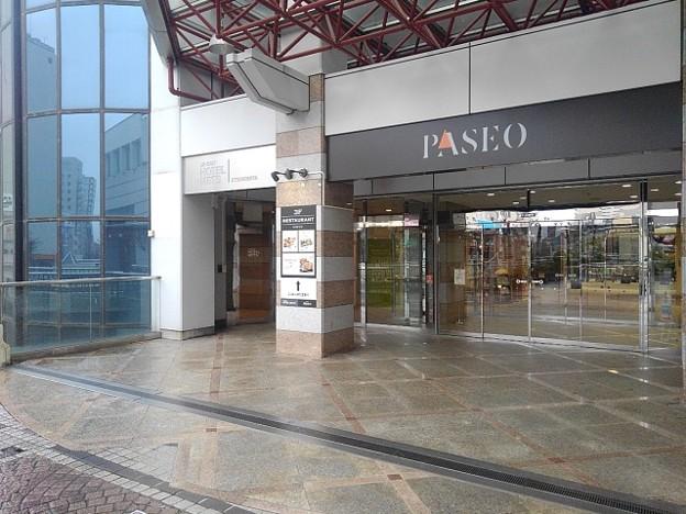パセオ入口(10月9日)