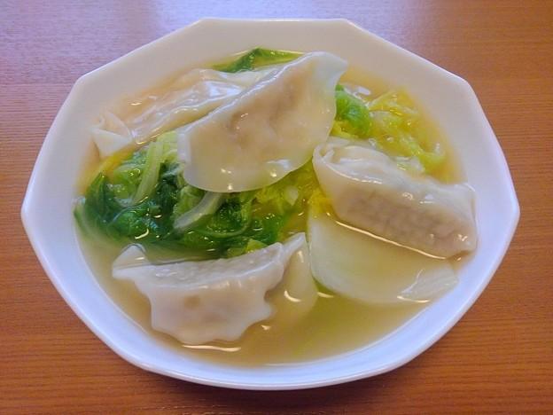 Photos: 餃子スープ(10月19日)