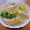 餃子スープ(10月19日)