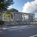 Photos: 県北体育館の入口(10月24日)