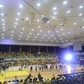 バスケの試合会場(10月24日)
