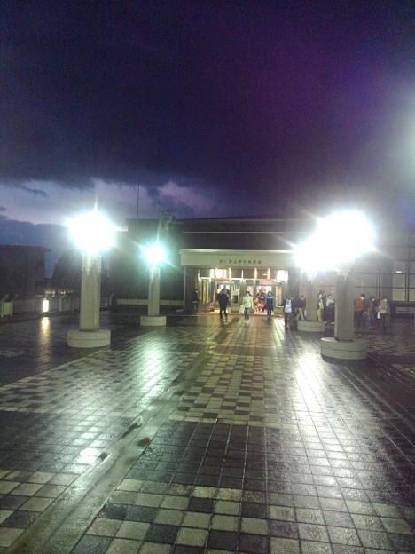 帰りの体育館の入口(10月24日)