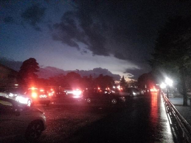 Photos: 帰りの駐車場(10月24日)