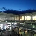 帰りの県北体育館(10月25日)