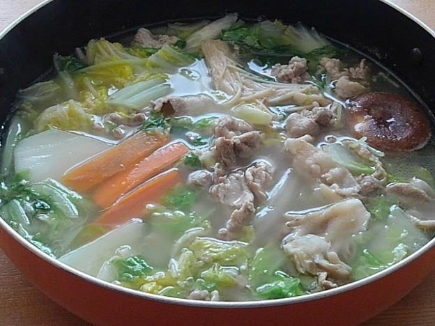 鍋料理(10月29日)