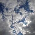 Photos: 雲が多めの空(10月21日)