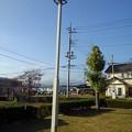 Photos: 小さな公園の街灯(11月15日)