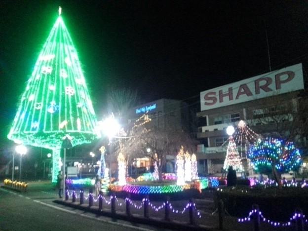 Photos: 矢板駅イルミ・大集合(12月5日)